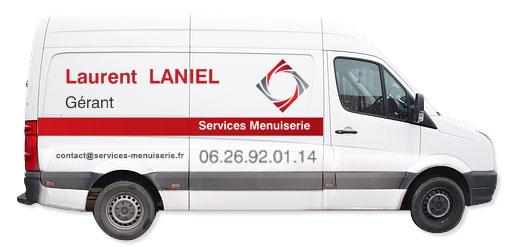 services menuiserie région paris